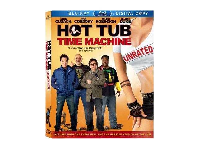 Hot Tub Time Machine (Blu-Ray / WS / ENG-SP-FR-SUB) John Cusack, Lizzy Caplan , Clark Duke, Craig Robinson, Rob Corddry, ...