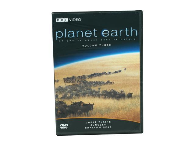 Planet Earth,Vol. 3:Great Plains/Jungles/Shallow Seas(DVD/WS/ENG/FREN/SPAN) David Attenborough