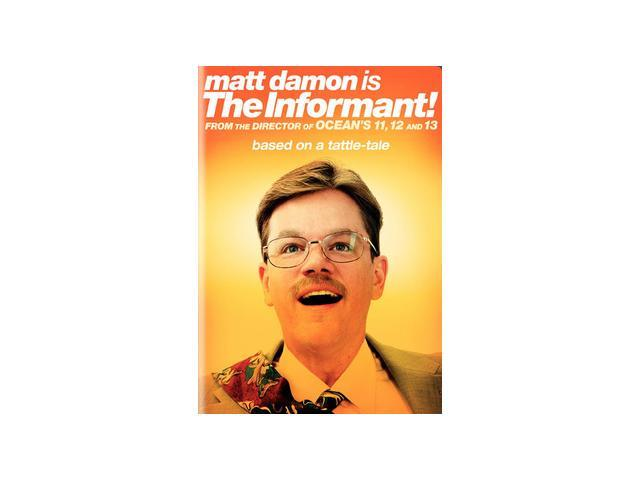 The Informant!(DVD / WS / ENG / FREN / SPAN) Matt Damon, Scott Bakula, Joel McHale, Melanie Lynskey