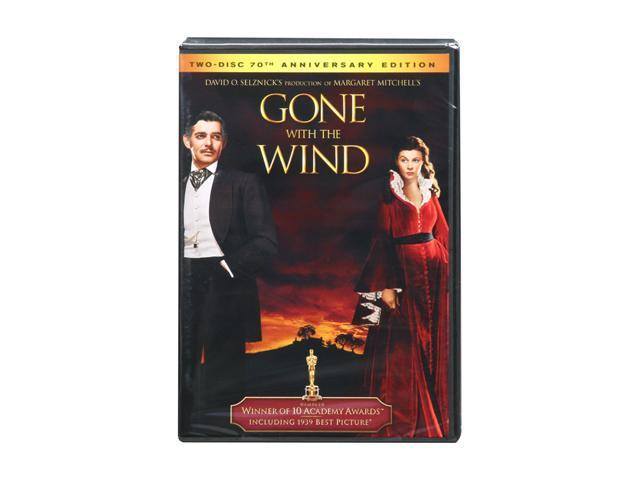 Gone with The Wind (DVD / Two-Disc 70th Anniversary Special Edition / FS) Clark Gable, Vivien Leigh, Thomas Mitchell, Barbara ...