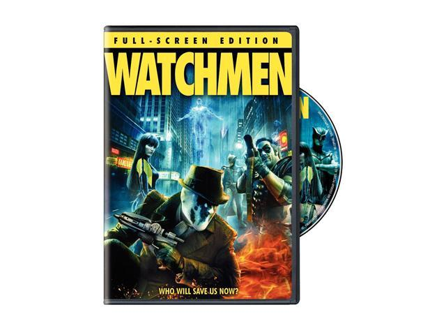 Watchmen(DVD / Theatrical Cut / Full-Screen Single-Disc Edition / Dolby Digital 5.1) Jackie Earle Haley, Patrick Wilson, Carla Gugino, Malin Åkerman, Billy Crudup