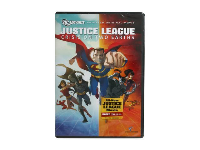 Justice League: Crisis on Two Earths(Single-Disc Edition / DVD / WS) William Baldwin, Mark Harmon, Chris Noth, Gina Torres, ...