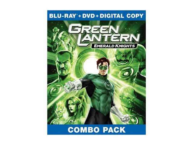Green Lantern: Emerald Knights (Blu-ray/WS) Nathan Fillion, Jason Isaacs, Elisabeth Moss