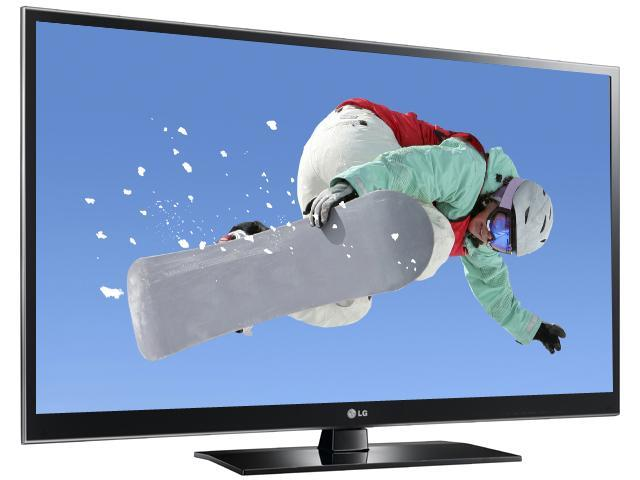 """LG 50"""" 1080p 600Hz Plasma HDTV 50PZ550"""