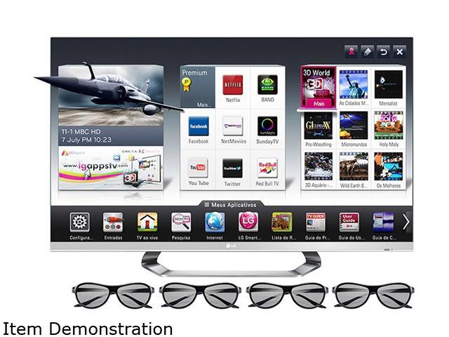 "3d Glass Lg Cinema 3d Glass: LG 47"" Cinema 3D 1080p 120Hz TruMotion LED TV With Smart"