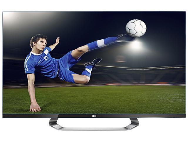 """LG 47"""" Class (46.9"""" Diag.) 1080p 240Hz Cinema 3D Smart LED TV 47LM7600"""