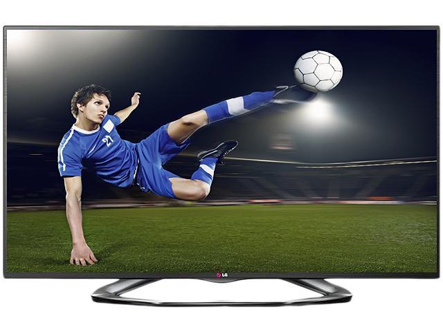 """LG 60"""" Class (59.5"""" diagonal) 1080p TruMotion 120Hz 3D Smart TV - 60LA6200"""