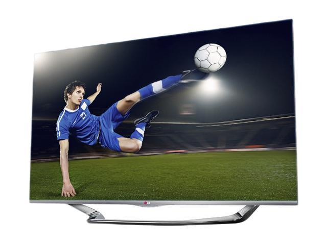 """LG 55"""" Class (54.6"""" diagonal) 1080p TruMotion 240hz Cinema 3D Smart TV - 55LA7400"""