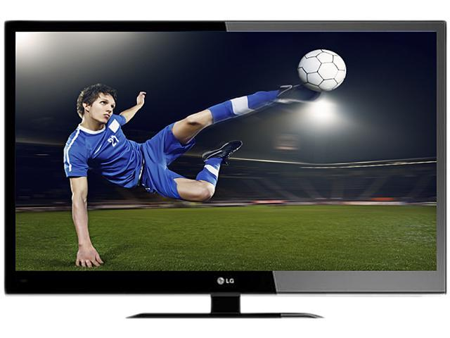 "LG 55"" Class (54.6"" diagonally) 1080p 120Hz LED-LCD HDTV 55LV4400"