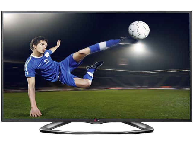 """LG 47"""" Class (46.9"""" diagonal) 1080p TruMotion 120Hz 3D Smart TV 47LA6200"""