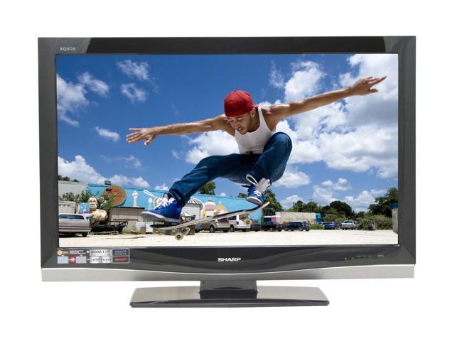 """SHARP AQUOS 42"""" 1080p LCD HDTV LC-42D62U"""