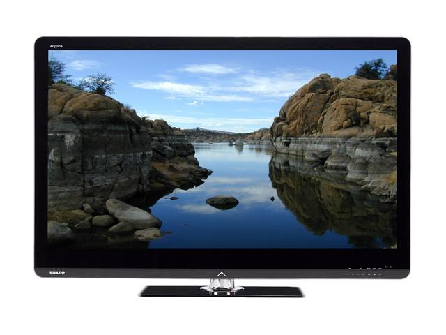 "Sharp AQUOS 52"" 1080p 120Hz LED-LCD HDTV LC-52LE810UN"