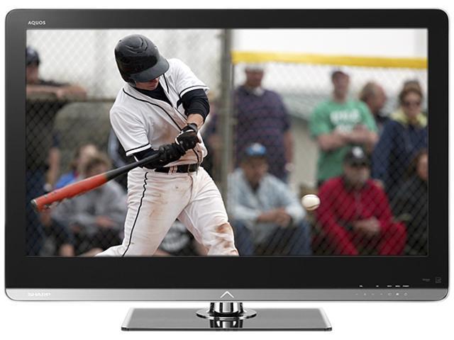 """Sharp AQUOS 52"""" 1080p 120Hz LED-LCD HDTV LC-52LE810UN"""