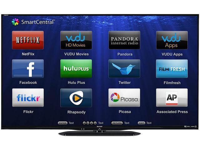 """Sharp 50"""" 1080p 120Hz LED-LCD HDTV - LC50LE650U"""