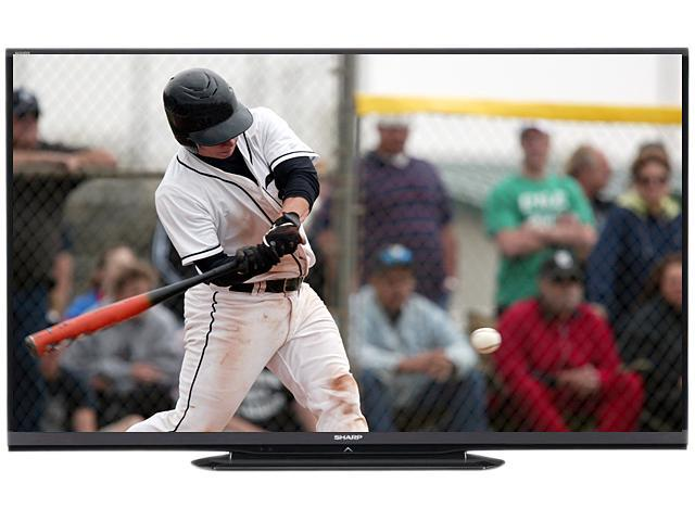 "Sharp Aquos 70"" Class (69.5"" Diagonal) 1080p 120Hz LED-LCD HDTV - LC70LE550U"