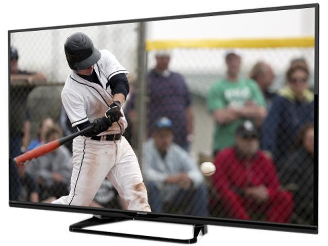 "Refurbished: Sharp 43"" 1080p Aquomotion 120 Aquos DLED HDTV, Smart LC43LE653U"