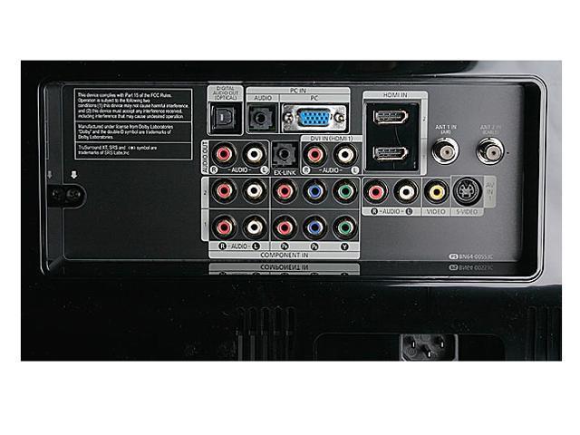 """SAMSUNG 40"""" 1080p LCD HDTV - LNT4065F"""