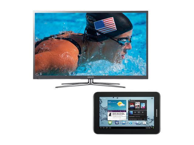 "Samsung 55"" 1080p Slim LED HDTV with Galaxy Tab Bundle UN55ES7500/GALAXY"