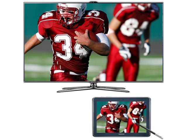 "Samsung 60"" 1080p Slim LED HDTV with Galaxy Tab Bundle UN60ES7500/GALAXY"
