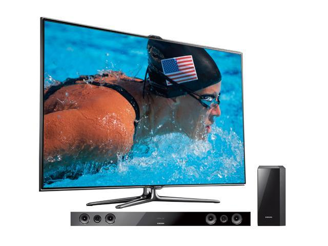 "Samsung 46"" Class (45.9"" Diag.) 1080p 240Hz LED HDTV With Soundbar Bundle UN46ES7500/HWE450"
