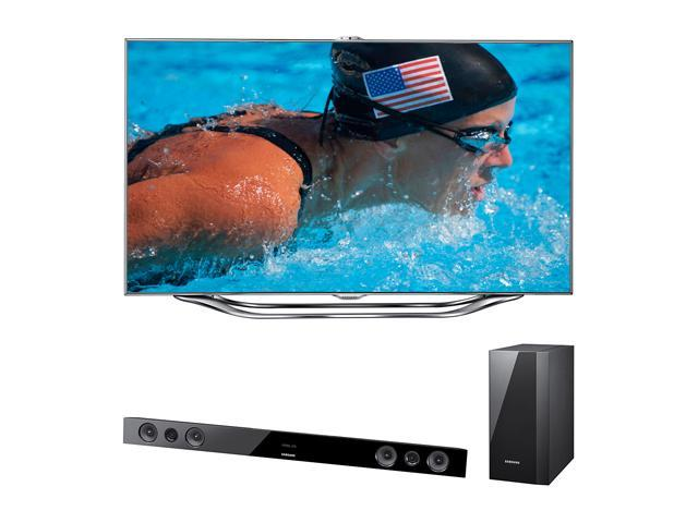 "Samsung 60"" Class (60.0"" Diag.) 1080p 120Hz LED HDTV UN60ES8000/HWE450"