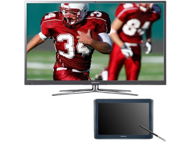 "Samsung 60"" 1080p Plasma Smart TV and Galaxy Tablet Bundle PN60E8000/GALAXY"