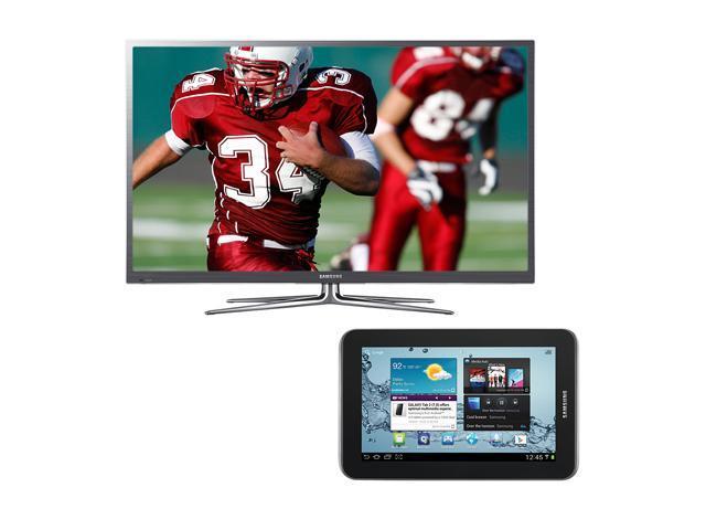 "Samsung 64"" 1080p Plasma Smart TV and Galaxy Tablet Bundle PN64E7000/GALAXY"