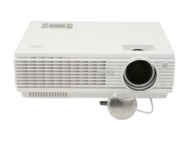 BenQ W100 854 x 480 DLP Home Theater Projector 1300 ANSI Lumens 2500:1