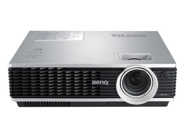 BenQ MP770 1024 x 768 3200 ANSI lumens DLP Projector with Senseye & BrilliantColorTM technology 2000:1