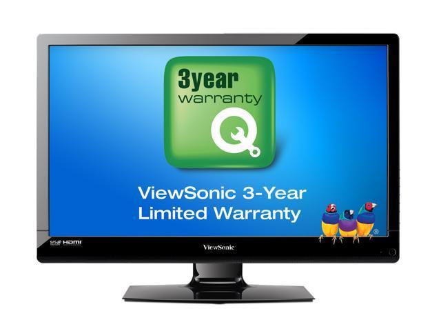 "ViewSonic 24"" Class (23.6"" Diag.) 1080p 60Hz LED HDTV VT2405LED"