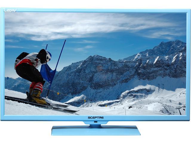 """Sceptre E325LD-HDR Blue 32"""" 720p 60Hz LED HD TV/DVD Combo"""