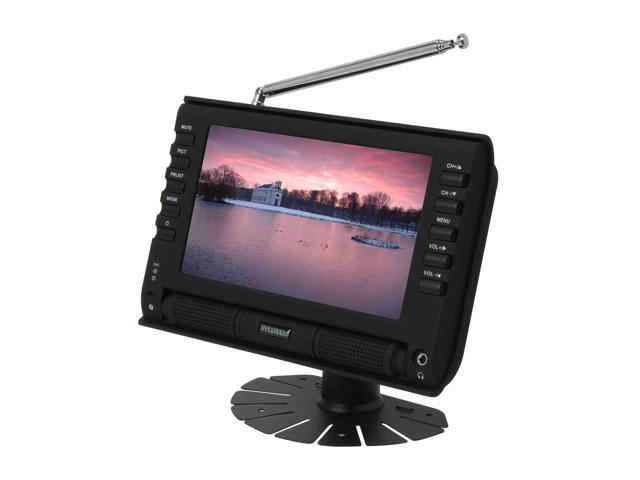 "Sylvania 7"" Portable LCD TV SRT702A"