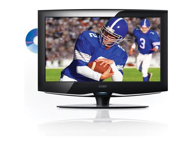 "COBY TFDVD2695 26"" Black 720p LCD HDTV With Built-In DVD Player"