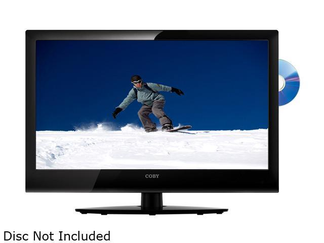 "COBY LEDVD2396 23"" Black LED-Backlit HDTV with DVD Player"