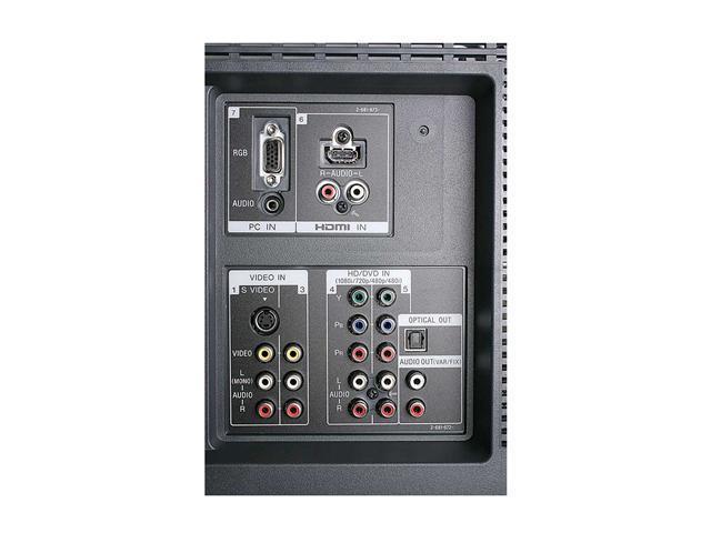 "SONY 40"" BRAVIA S-Series Digital LCD HDTV w/ ATSC Tuner Inside KDL-40S2400"