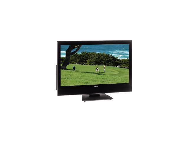 "TOSHIBA REGZA 37HLV66 37"" Black/Silver LCD HDTV w/ DVD Player & ATSC Tuner"