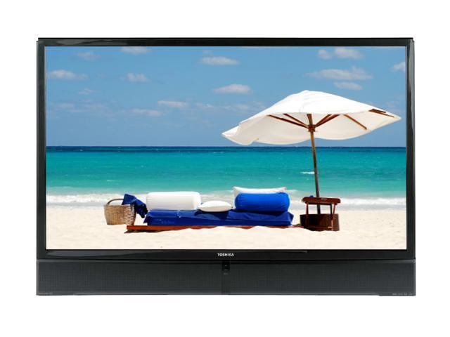 "TOSHIBA 72MX196 72"" 16:9 Black DLP Technology TV With ATSC Tuner & CableCARD"