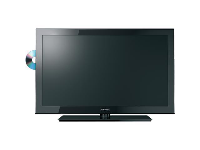 """TOSHIBA 19SLV411U 19"""" Class (18.5"""" Diag.) Black 720p 60Hz LED HDTV/DVD Combo"""