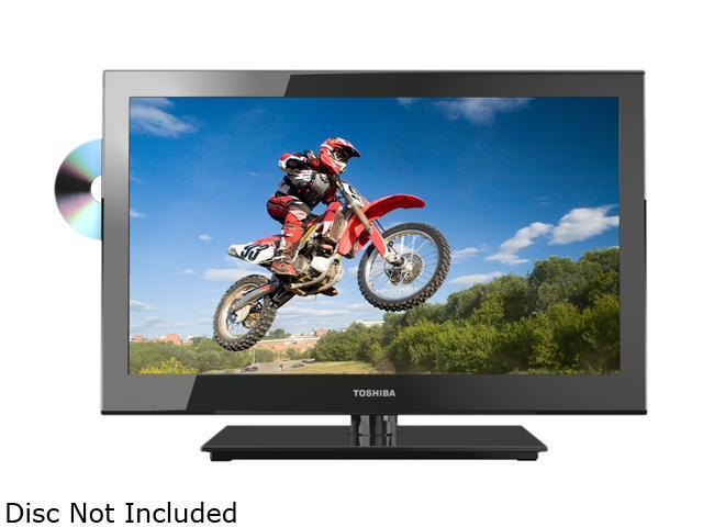 """TOSHIBA 24V4210U 24"""" Class (23.6"""" Diag.) 1080p 60Hz TV/DVD Combo"""