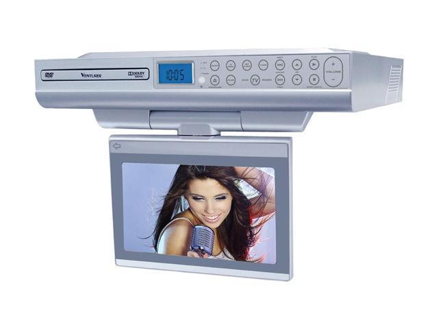 Lcd Tv With Under Cabinet Wifi Streaming - Monsterlune