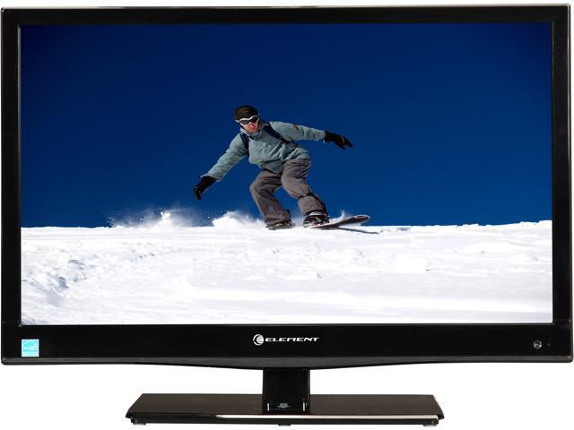 "ELEMENT ELEFW221D 22"" Black 1080p 60Hz LED HDTV/DVD Player Combo"