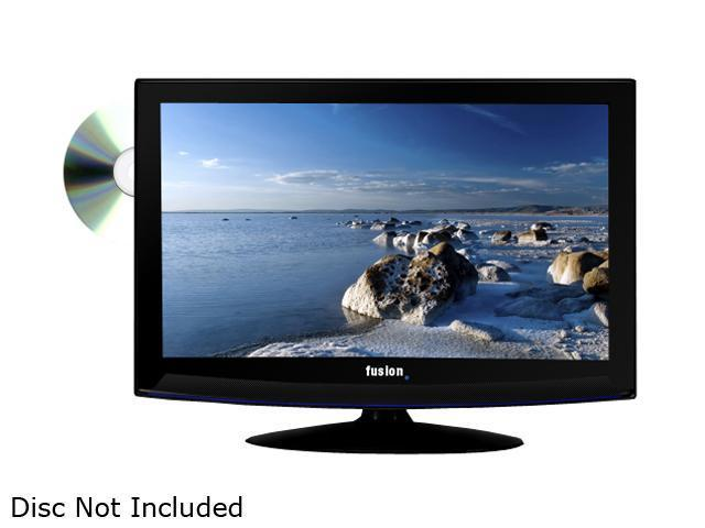 "Fusion FUS-42DVD 42"" Black 1080p 120Hz LED-LCD HDTV with Built-In DVD Player"