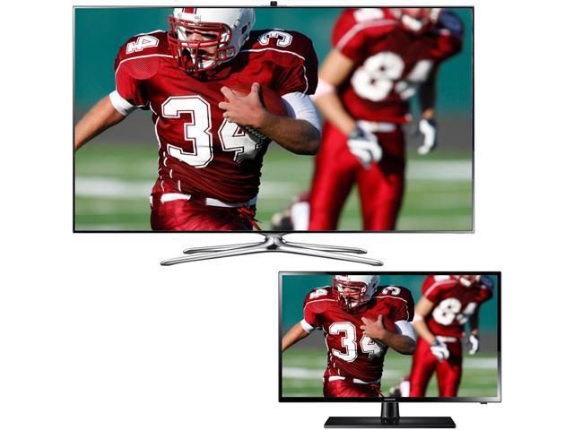 "Samsung 55"" Class (54.6"" Diagonal size) 1080p 240Hz LED-LCD HDTV - UN55F7500/UN29F4000"