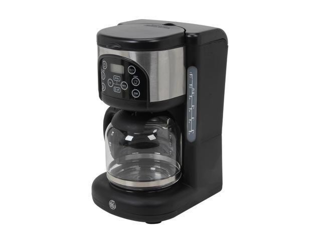Ge Coffee Maker ~ Ge black digital coffee maker newegg