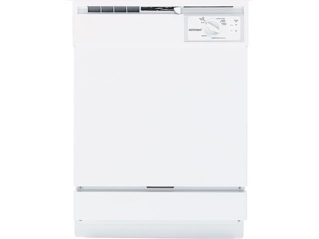 GE HDA2100VWW Hotpoint Built-In Dishwasher White