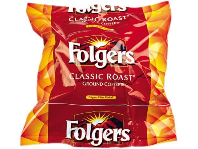 Folgers 06114 Coffee Filter Packs, Regular, .9 oz, 160/Box