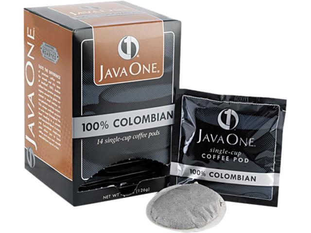 Distant Lands Coffee 30200 Coffee Pods, Colombian Supremo, Single Cup, 14/Box
