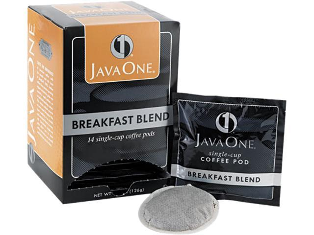 Distant Lands Coffee 30220 Coffee Pods, Breakfast Blend, Single Cup, 14/Box