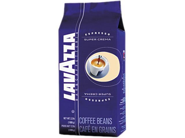 Lavazza 4202 Super Crema Whole Bean Espresso Coffee, 2.2 lb. Bag, Vacuum-Packed