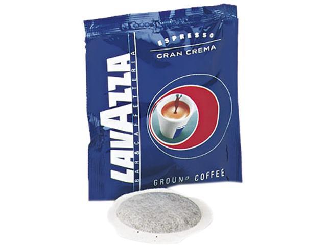 Lavazza 4483 Gran Crema Espresso Pods, House Blend, 150/Carton